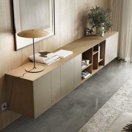 modulare Echtholz Sideboards