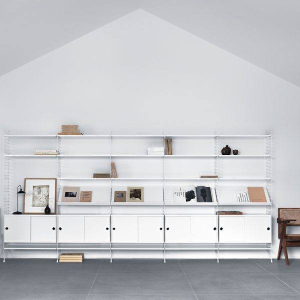 Regalsystem skandinavisches Design
