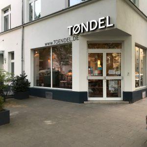 reopening Toendel Shop Cologne