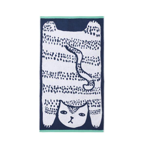 Badetuch Donna Wilson Cat Bath Towel