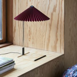Tischleuchte HAY Matin Table Lamp S Oxide Red