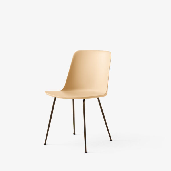 Stuhl &Tradition Rely Bronzed beige