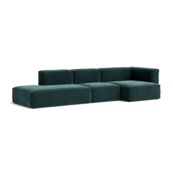 Sofa HAY Mags Soft 3 Setzer Lola dark green