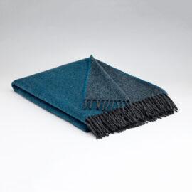 McNutt Decke Collection Larkspur Reversible Throw